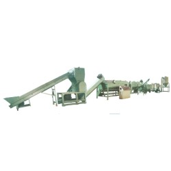 Waste Plastic HDPE LDPE PP Jumbo Woven Bags Film Recycling Crushing Washing Line/Machine