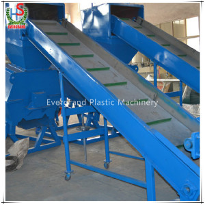 PET bottle crushing washing drying recycling line/waste plastic recycling equipment for PET bottles