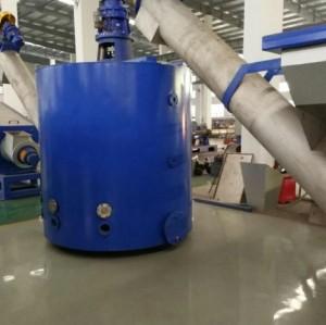 plastic recycling machine plant 1000kg/h plastic pet bottle flakes washing recycling line