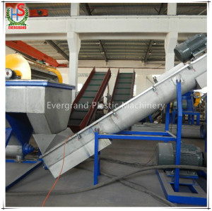PP PE LDPE LLDPE waste dirty film bags recycling washing line recycle plastic line
