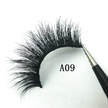 Best seller New design 5d eyelash dramatic real mink 12-18mm lashes