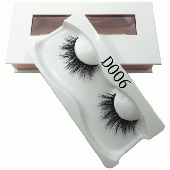 New design best seller 5d dramatic real mink 12-18mm lashes
