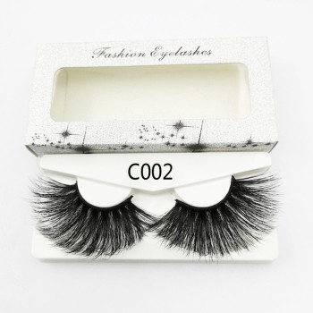 Popular Custom OEM Brand Wholesale Mink Eyelash with Custom Eyelash Packaging