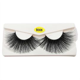 Real 3d Mink Fur Eyelashes Private Label Mink 3d Eyelashes Vender