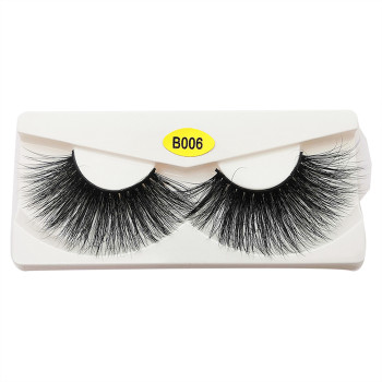 Real 3d Mink Fur Eyelashes Private Label Mink 3d Eyelashes Vender