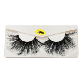Wholesale Private Label 25mm 3d Mink Eyelashes Clear Band Mink 3D Lashes