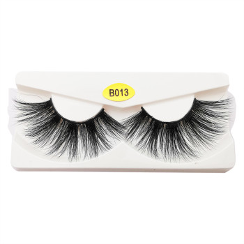 Wholesale Handmade Mink Eyelashes Clear Band Mink Eyelashes Makeup Mink Eyelashes
