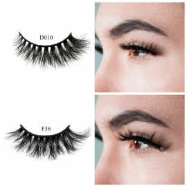 Wholesale Manufacture Custom Soft Band 3d mink eyelashes