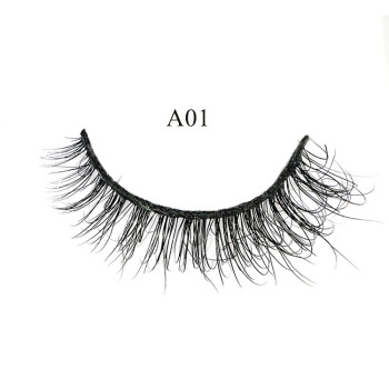 Wholesale 100% real siberian mink lashes private label eyelashes 3d mink eyelashes