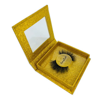 Wholesale 100% 3D Mink Eyelashes 3D Eyelashes Private Label