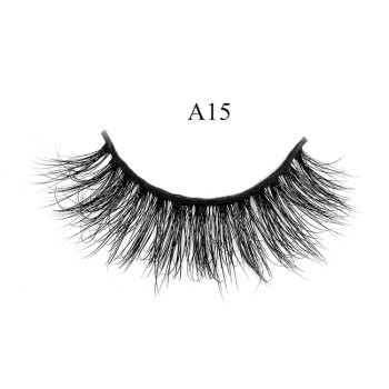 Eye Lashes Vendor Supply Best Selling 100% Hand Made Natural 3D Mink Fur Eyelashes