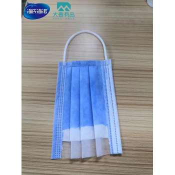 Factory wholesale 3 - layer disposable masks dust - proof and droplet - proof masks