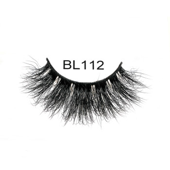 100% Real 3D Mink Eyelashes with custom glitter box Private Label False Fluffy Lashes For Beauty