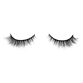 2021 New arrival Natural look Short Mink Lashes 3D Mink Natural daily make up eyelashes