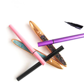 Magic Eyeliner Pencil Private Label Adhesive Sticky Power Eyeliner eyeliner No Magnet Eyelashes Kit