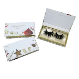 eyelash packing custom private label lash packaging box container Custom Logo Eyelash Package