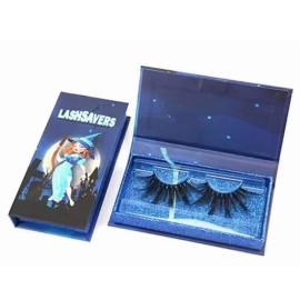 Eyelash packing box Wholesale Halloween luxury eyelash rectangle packing boxes