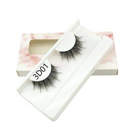 3D Faux Mink Hair False Eyelashes Natural Thick Long Eyelash Wispy Makeup Lashes