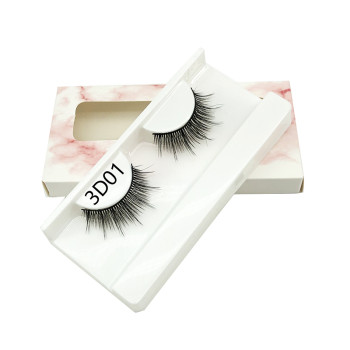 3D Faux Mink Hair False Eyelashes Natural Thick Long Eyelash Wispy Makeup Lashes
