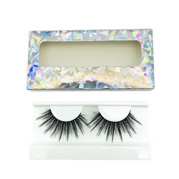 Natural Multipack 5D Soft Mink Hair False Eyelashes Wispy Faux Fluffy Lashes(5D02)