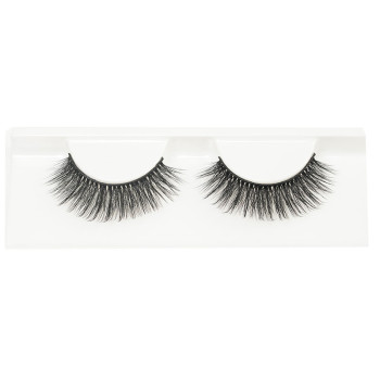 Wholesale Natural 3D Faux Mink Eyelashes HandMade Full Strip Lashes Volume Soft Mink Lashes(Q2)