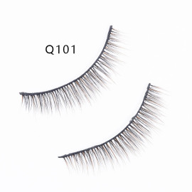 Makeup Eyelashes 3D Mink Lashes Fluffy Soft Wispy Volume Natural long Cross False Eyelashes