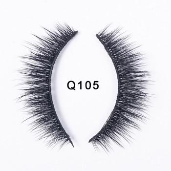 Luxury 3D Faux Mink Eyelashes Lasting Makeup Lashes Long Layered Wispy Fluffy Eyelash