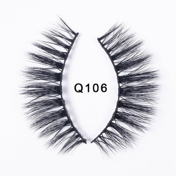 1 box faux mink eyelashes natural long 3d mink lashes hand made false lashes makeup false eyelash