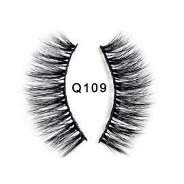 1 Pair 3D Mink Lashes Long Thicken eyelash Curl False Eyelashes Eyes lash