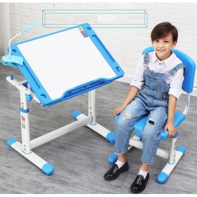 Ergonomic study table set