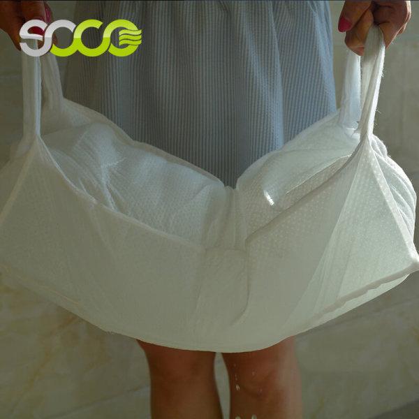 Non сплетенные водопоглощающие мешки контроля за наводнением используемые для дамб наводнения