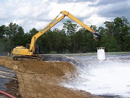Super absorbent polymer for sewage treatment