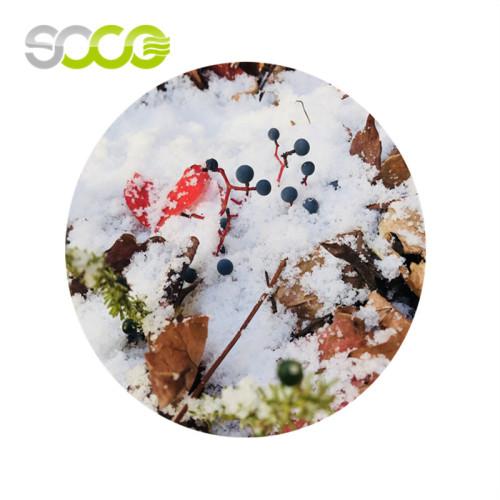 El polímero absorbente se puede utilizar como nieve artificial.