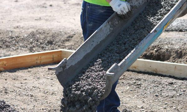 Абсорбирующий полимер можно использовать в качестве добавок к бетону.