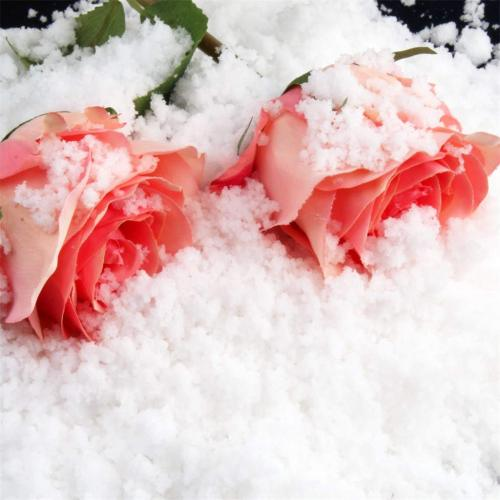Absorbent polymer can be used as artificial snow