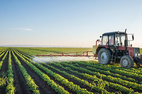 Agente de retención de agua utilizado en la producción agrícola a gran escala.