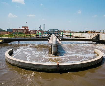 Затвердевание осадка сточных вод