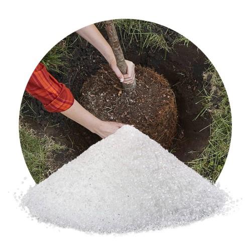 Cristales de polímero de venta directa de fábrica para plantas con alta calidad.