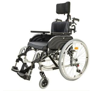 Toggle Brake Head brace Manual Wheelchair