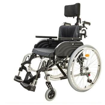 Toggle Brake Head brace Manual Wheelchair