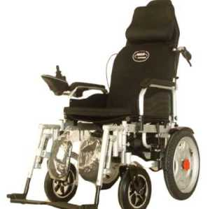 High-Back Power Steel Wheelchair hand push