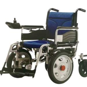 Strong power drive wheelchair black red two battery Wheelchair