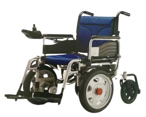 Strong power drive wheelchair black red blue two battery