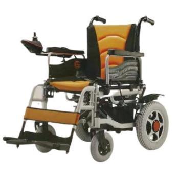 Portable power wheelchair detachable footboard