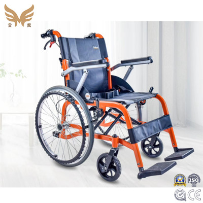 Aluminium Alloy Light Weight Non Electric Foldable Manual Wheelchair
