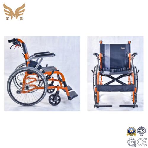Aluminium Alloy Light Weight Non Electric Foldable Manual Wheelchair