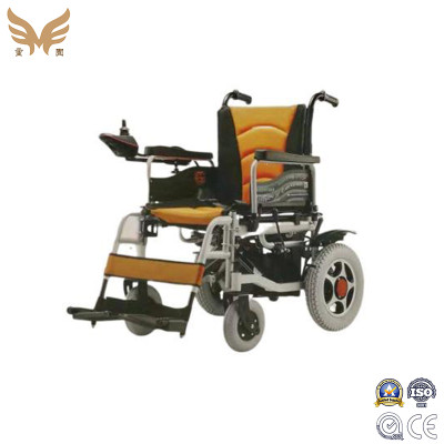 Portable power wheelchair detachable footboard