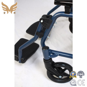 Folding Wide Manual Wheelchair