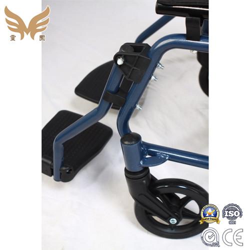 Folding Wide Manual Wheelchair