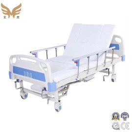 Manual Hospital Care Bed Adjustable Medical Bed